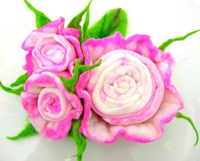 Цветы из фетра 6dfd55633b01