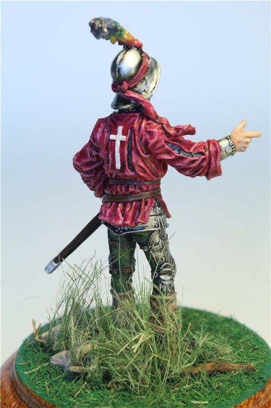 Офицер швейцарской пехоты, 1450-85 гг. 87d352f35bdb