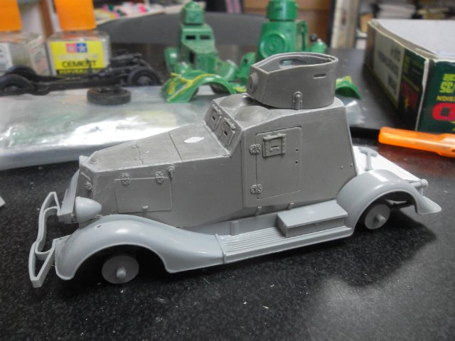Бронеавтомобиль ФАИ-М, 1/35, (MSD 3562). 69996f0666eb