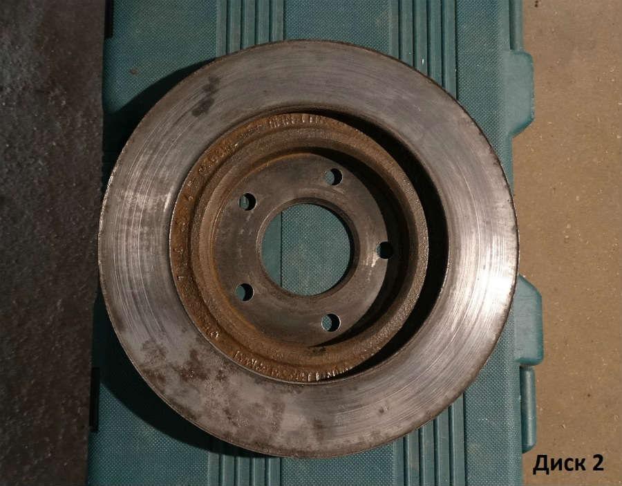 Тормозной диск для Jeep Patriot, Compass Cc3211e43277