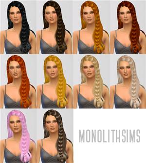 Женские прически (длинные волосы) - Страница 5 392300434f6b