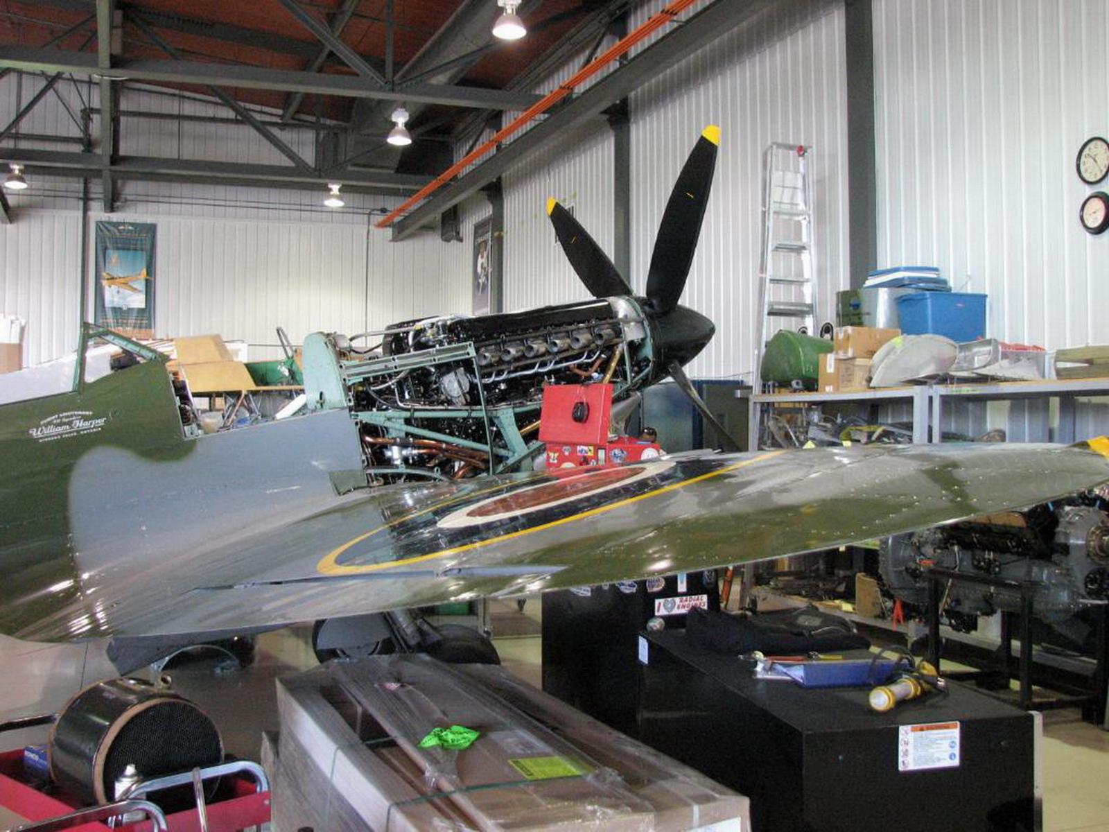 ВАЛК! Supermarine Spitfire Mk XVIe F614a43f0cf7