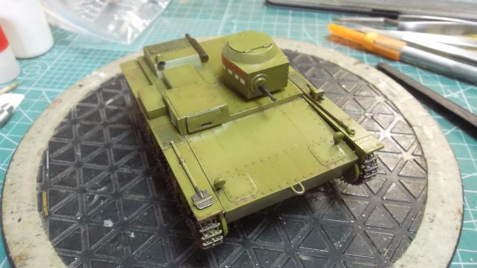 Т-38 малый плавающий танк, 1/35, (Восточный экспресс 35002 / MSD 3522 / AER Moldova). 67389d105603