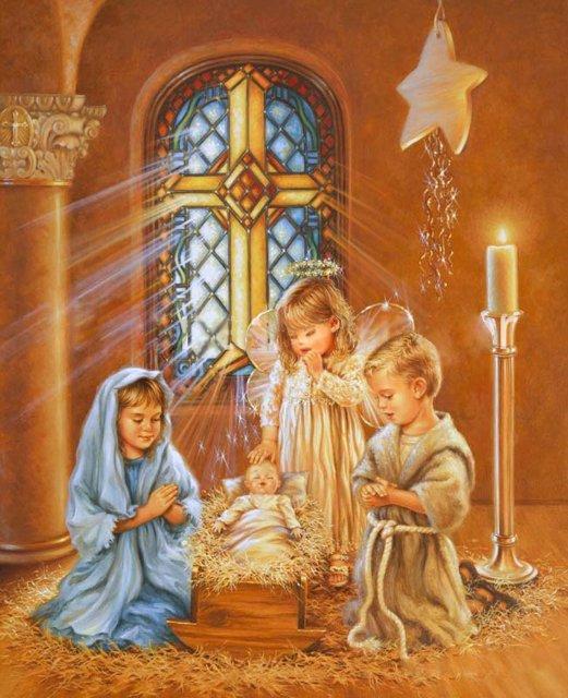 Рождественские ангелы от Dona Gelsinger 240c991504a1