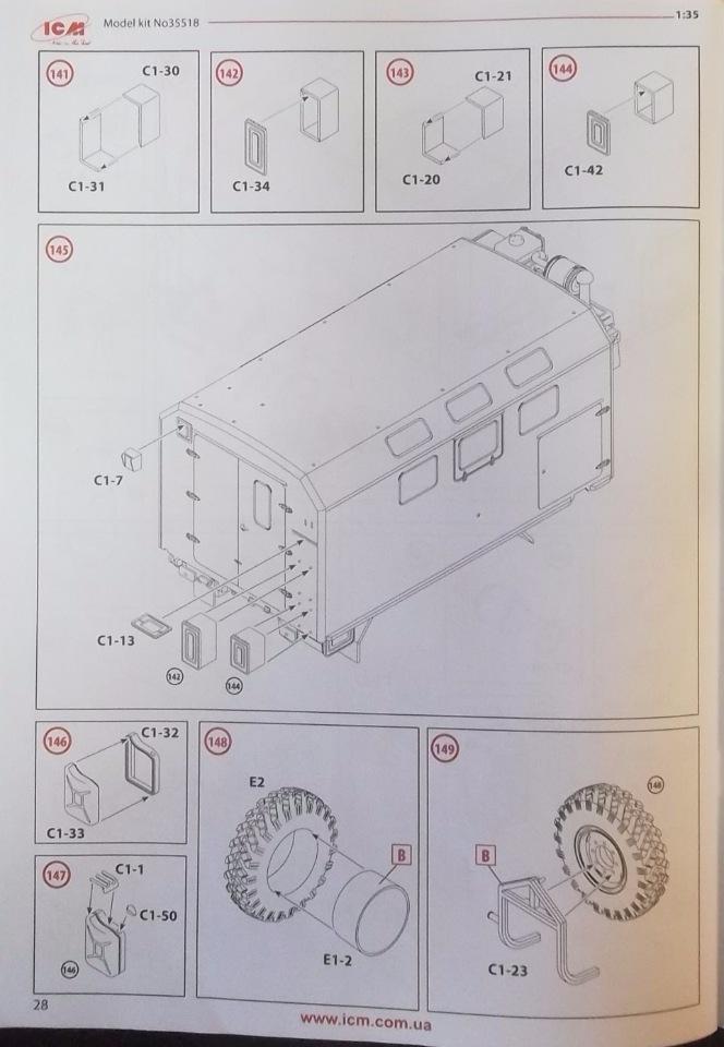 Обзор ЗиЛ-131 Аварийная служба / КУНГ, 1/35 (ICM 35518).  21d612cf0f3f