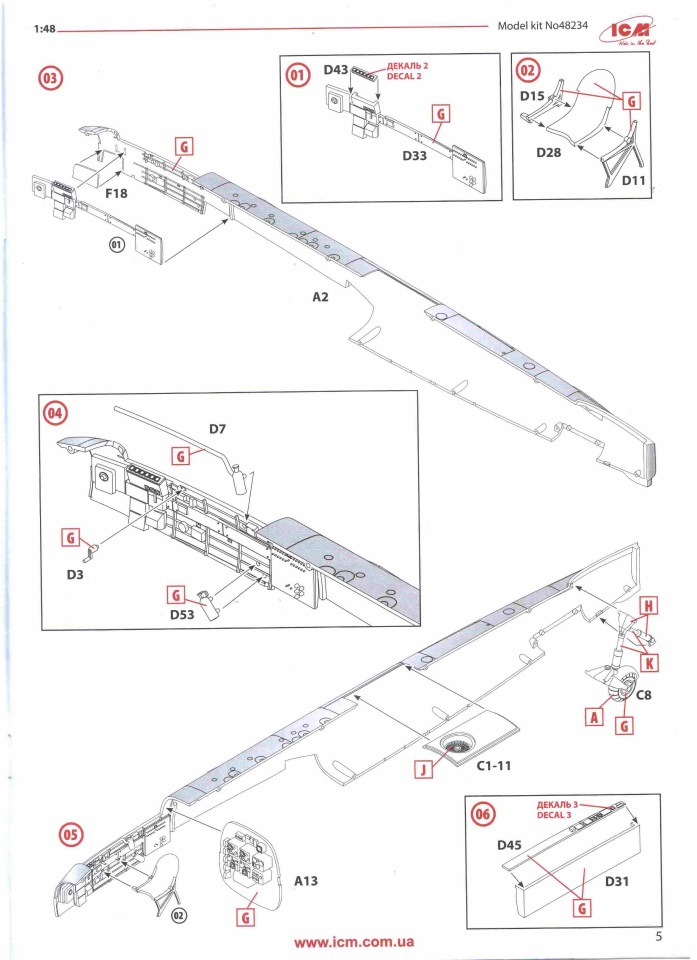 Обзор Ju-88A-14, 1/48, (ICM 48234). C131388ea16d