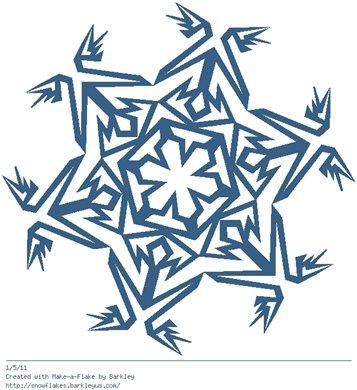 Зимнее рукоделие - вырезаем снежинки! - Страница 3 62d4a2762938