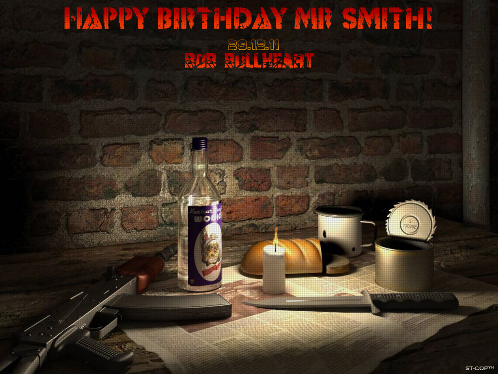"Bob BullHeart with festive music set ""Happy Birthday Mr. Smith!"" B3b84d2b08d8"
