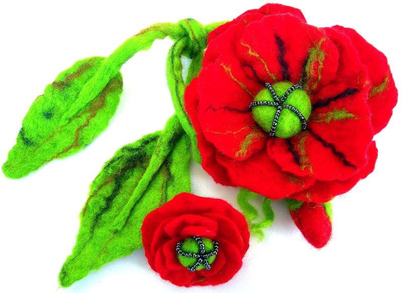 Цветы из фетра 37d601254675