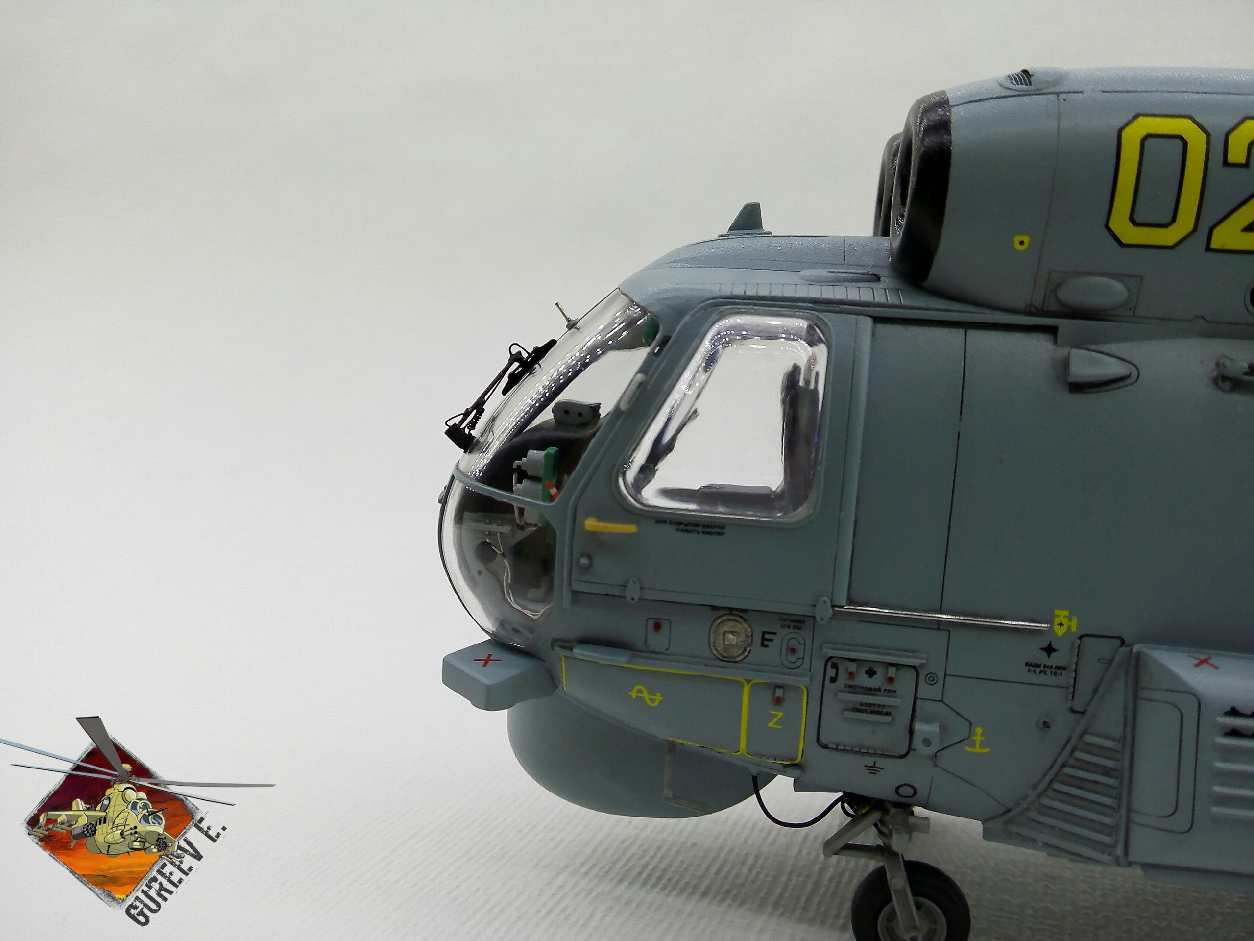 Ка-27ПЛ 1/48 HOBBYBOSS - Страница 4 049df2c7e91f