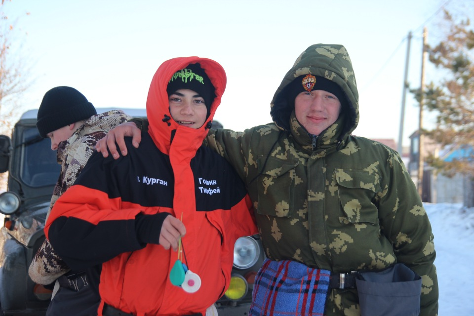 Первенство города Кургана по ловле на мормышку со льда среди юношей и девушек с 14 до 17 лет. 1d02673c1477