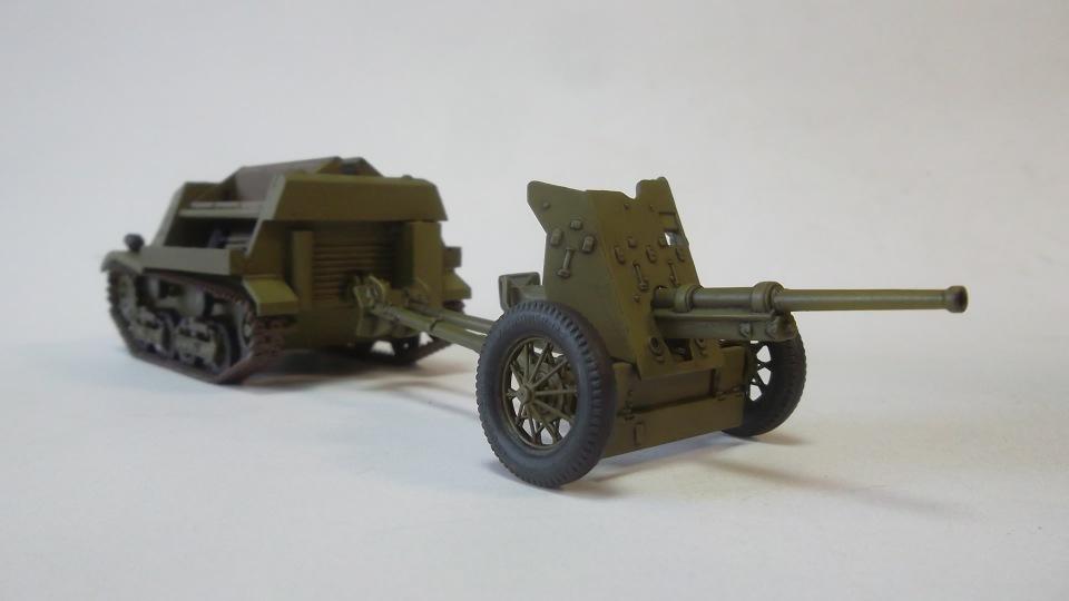 45-мм противотанковая пушка обр.1937 г., 1/35, (Алангер 035101). 6ed3ff243212
