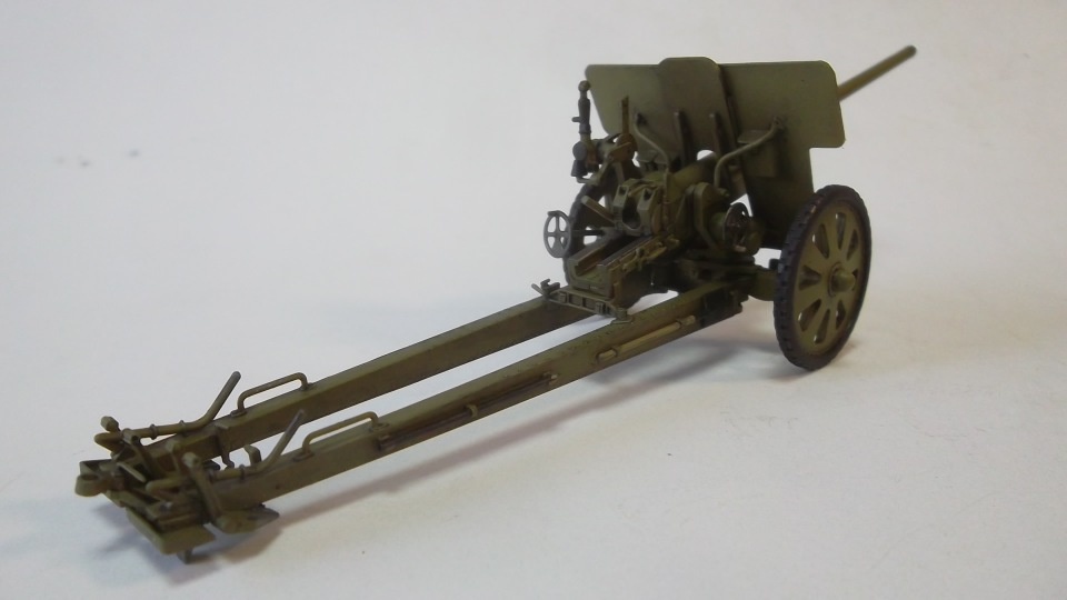 76-мм Дивизионная пушка Ф-22 обр.1936г., 1/35, (ICM 35702). 0f131899ffa9