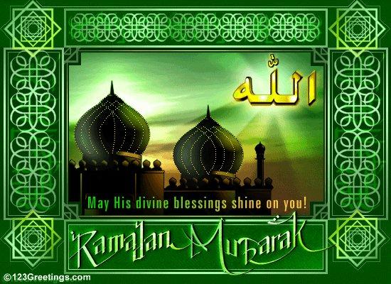 Рамадан Карим - с наступлением священного месяца Рамадана 5da0e7011db9