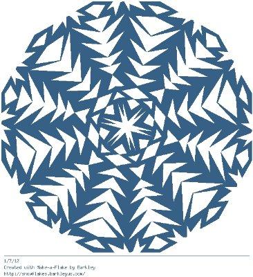 Зимнее рукоделие - вырезаем снежинки! - Страница 10 Cc1db12f92e6