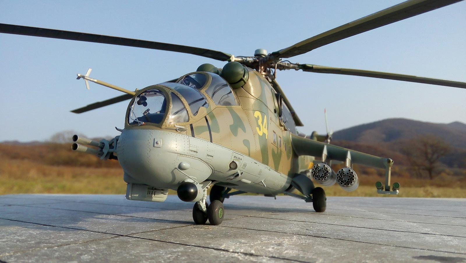 Ми-24П. Trumpeter. 1/35 6cc300f8fdde