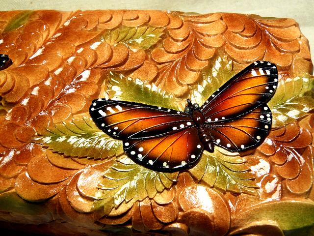 Свадебная шкатулка с бабочками 98cee16058a8