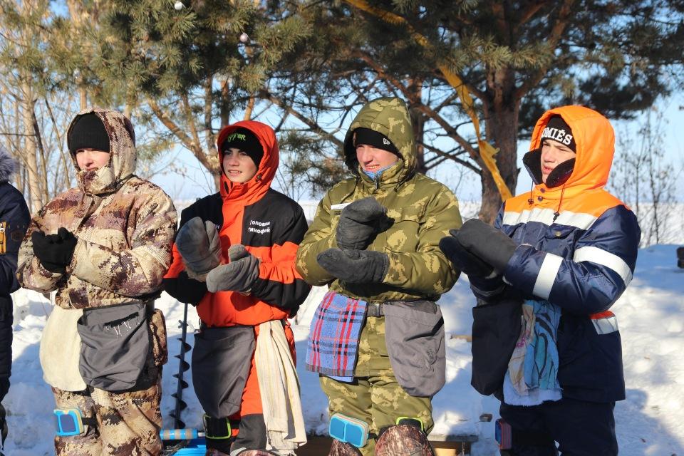 Первенство города Кургана по ловле на мормышку со льда среди юношей и девушек с 14 до 17 лет. 379d9dfde7da