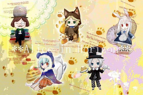 Арты на тему: 'Alice in Wonderland' 5ee16ef3786c
