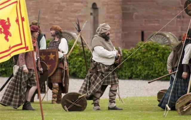 Шотландский замок Гламис 447cc83d7ec7