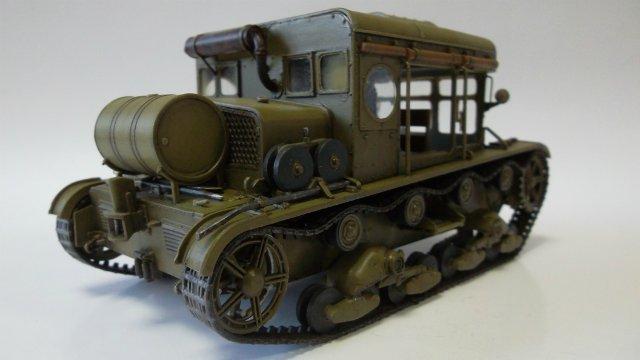 Тягач Т-26 / трофейный польский С7Р, 1/35, (Mirage hobby 35903). 60e1a80885db