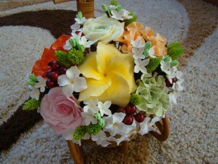 Цветы ручной работы из полимерной глины 9230d68208d2