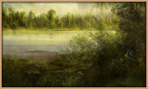 Заросшее озеро 80a8d845f45b