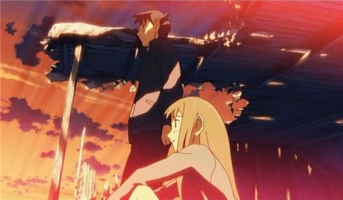 За облаками. Обещание юности (Обещанное место за облаками) / Beyond the Clouds, The Promised Place /  Kumo no Mukou, Yakusoku no Basho / 雲のむこう、約束の場所  (2004 г., полнометражный)  B77d19acfca1