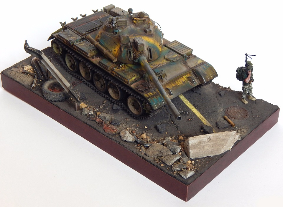 Сирийский Т-55А 31573ddeffe3