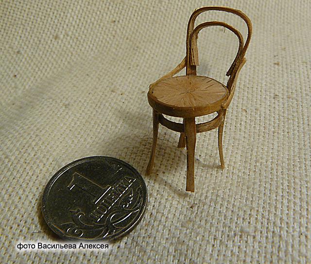 Старый венский стул масштаб 1:35 2436a0a13418