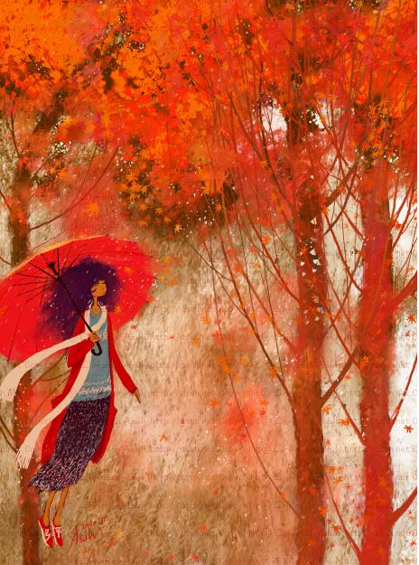 Корейская художница Christian Asuh 987674816c60