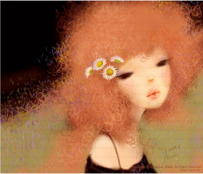 Корейская художница Christian Asuh C2b176a2415a
