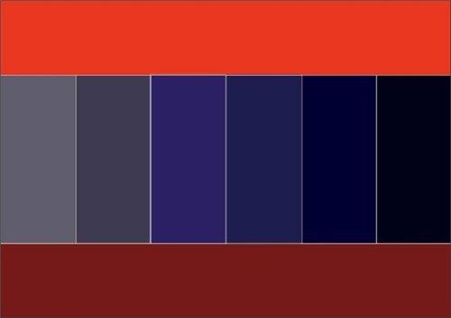 Как правильно сочетать цвета в одежде 1539dd494e0d