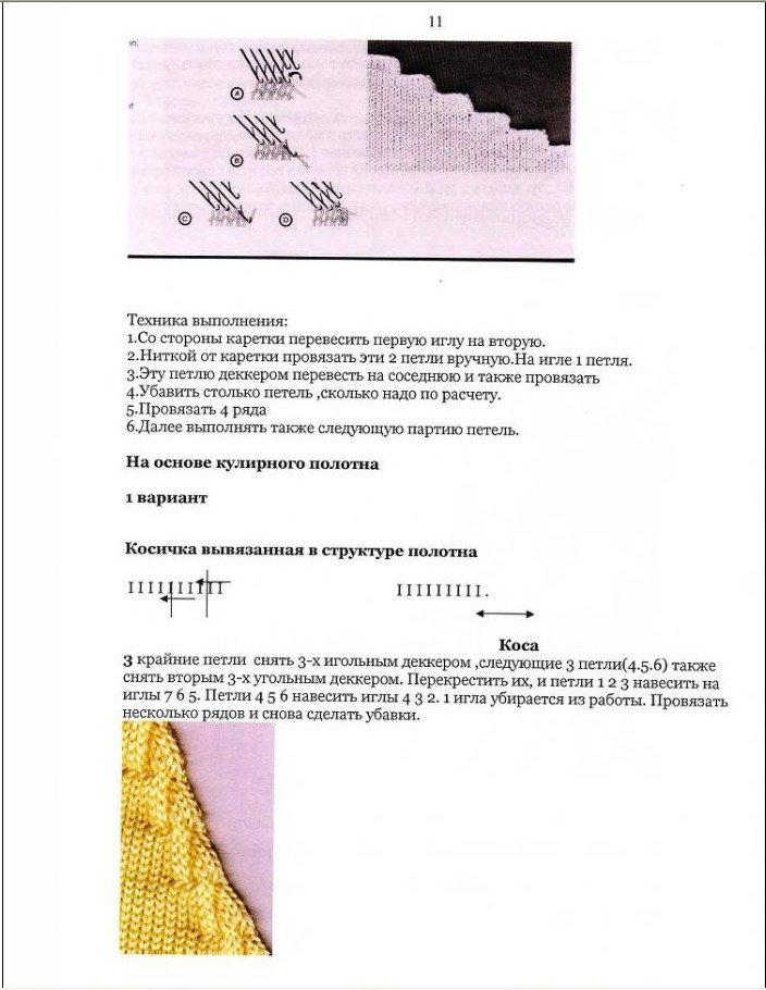 Начальный курс по обучению вязания на вязальной машине SILVER REED   - Страница 3 048a7fa22479