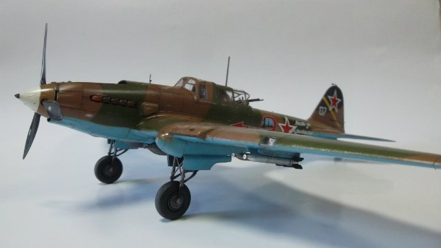 Ил-2, масштаб 1/48, (Tamiya 61113). D2d12b09b781