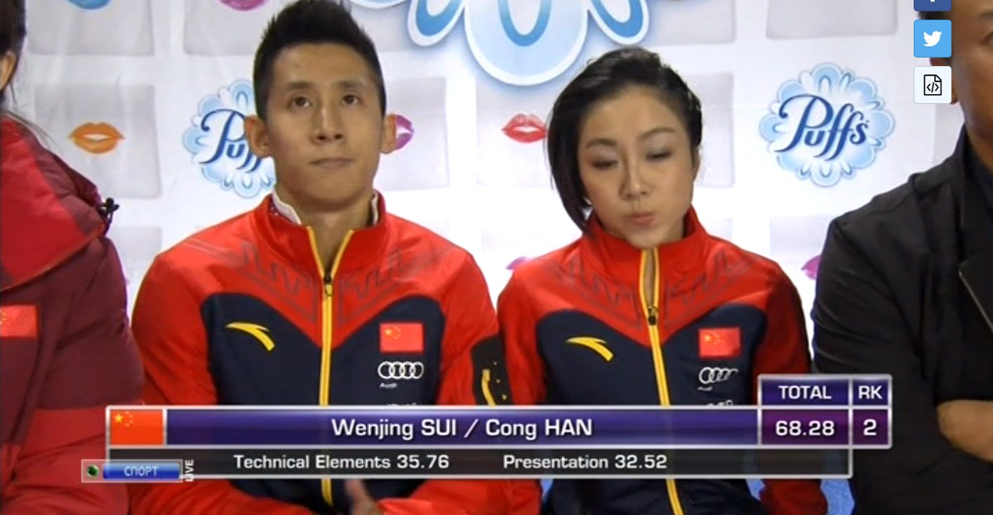 Вэньцзин Суй - Цун Хань / Wenjing SUI - Cong HAN CHN Fed606f66f40