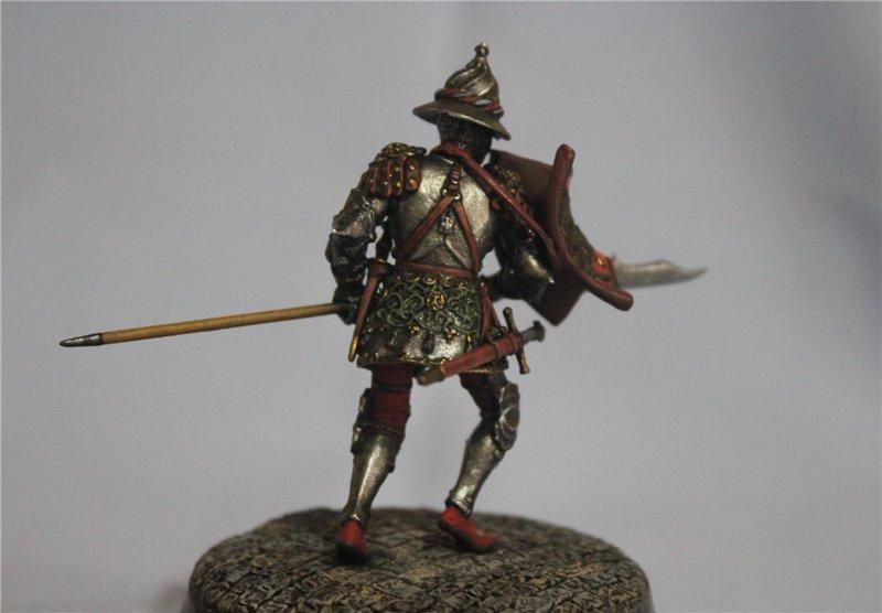 Бургундский рыцарь в миланском доспехе, 15 век.  Автор: Дмитрий Фурсов, г. Тамбов. 96a137aa9707