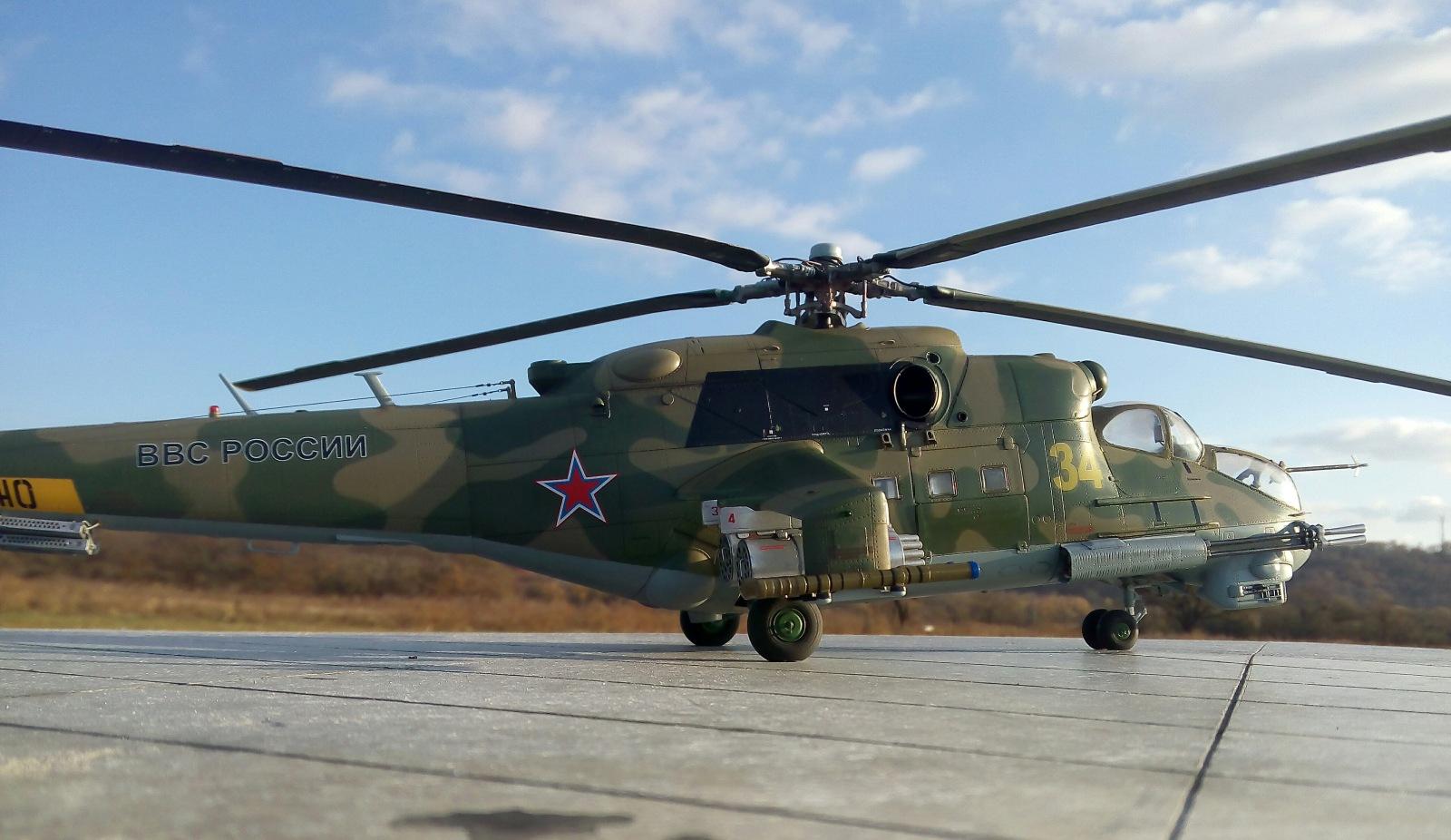 Ми-24П. Trumpeter. 1/35 D1135d18441d