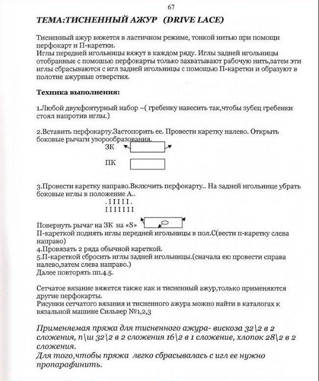 Начальный курс по обучению вязания на вязальной машине SILVER REED   - Страница 4 F27795170a03
