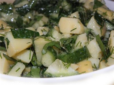 Картофельный салат с зеленью 8c76dbcd6c8d