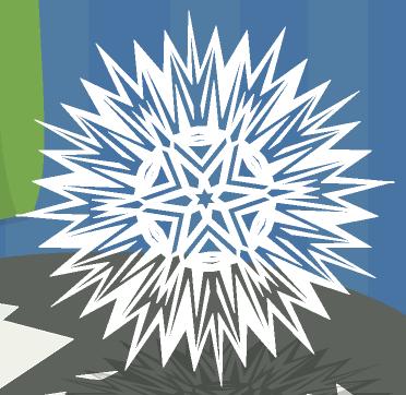 Зимнее рукоделие - вырезаем снежинки! - Страница 9 269aa02f8c47