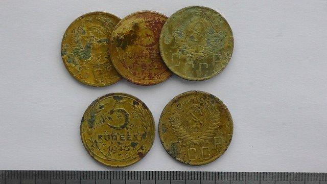Экспонаты денежных единиц музея Большеорловской ООШ 53e34c3c72d2