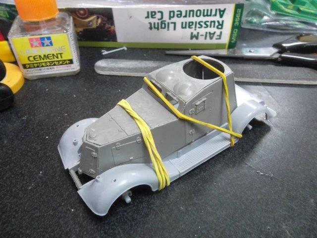 Бронеавтомобиль ФАИ-М, 1/35, (MSD 3562). Db6a7c5ec110