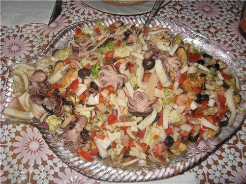 Салат с морепродуктами от Витальевны 53cd59396d9d