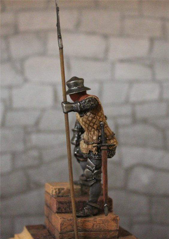 Солдат гарнизона стражи,Англия,15 век. Автор: Дмитрий Фурсов, г. Тамбов. 89f9f9864ce1