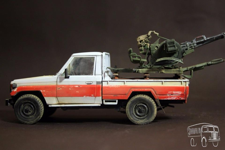 PickUP w/ZU-23-2 от Meng, масштаб 1/35 D14375971b9e