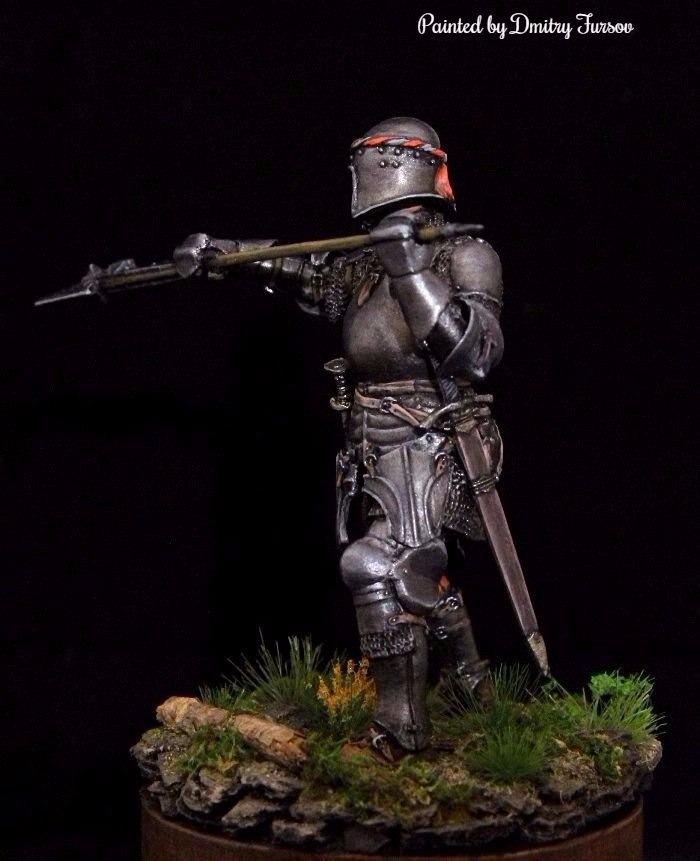 Европейский рыцарь, 15 век, Автор: Дмитрий Фурсов, г. Тамбов. 9881341e0d15