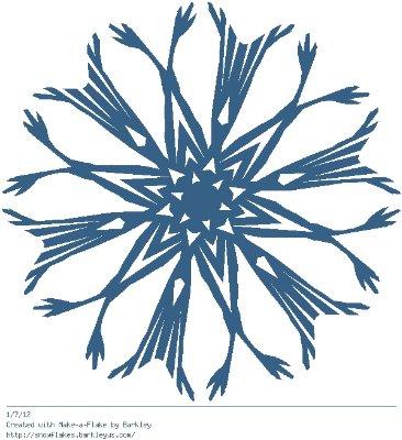 Зимнее рукоделие - вырезаем снежинки! - Страница 10 F7bdf133be03