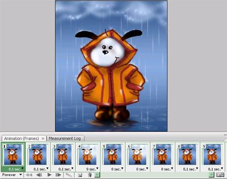 Урок №1 Анимация дождя B4c9dffc9d32