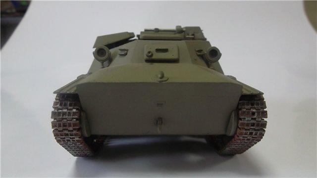 Катюша БМ-8-24 на Т-40, 1/35, (Старт) D4de0d375f2f